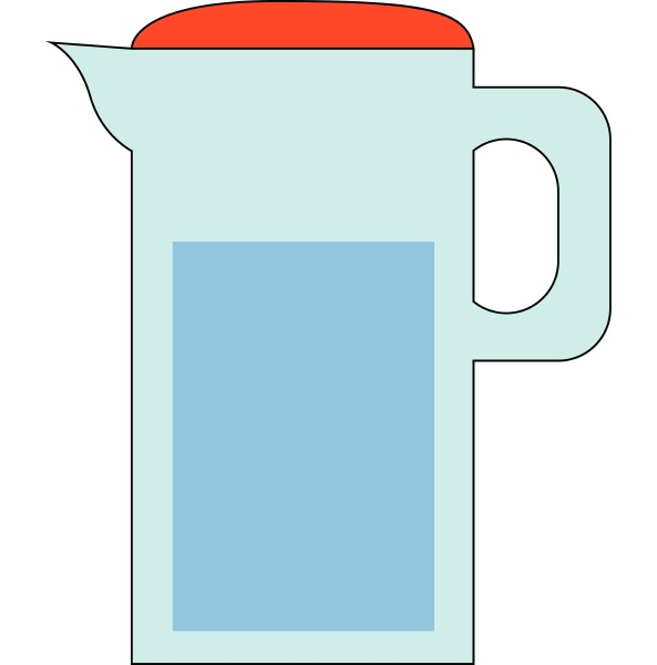 image of carafe of water