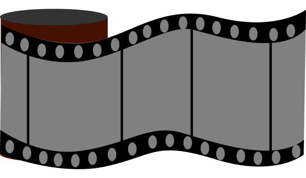 retro camera roll illustration vector on