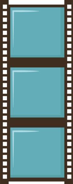film of camera illustration vector on