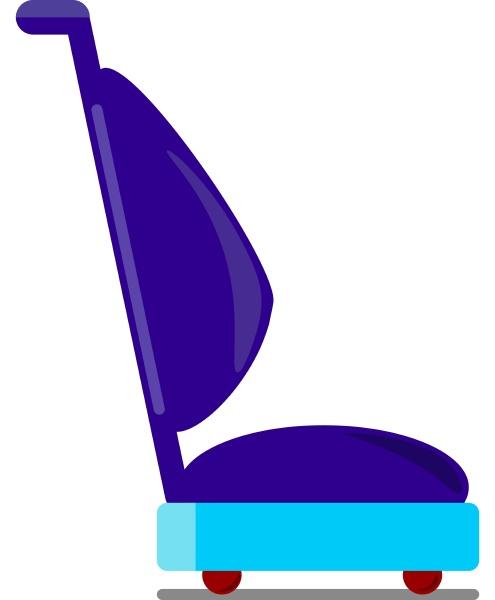 vacuum cleaner illustration vector on white