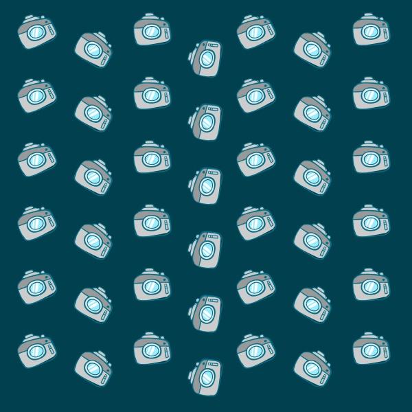 camera wallpaper illustration vector on white