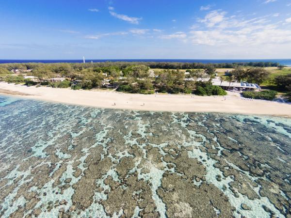 aerial view of lady elliot island