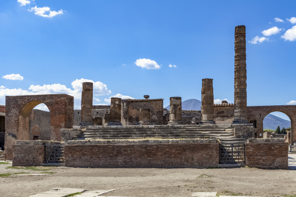 ruins of the roman temple of