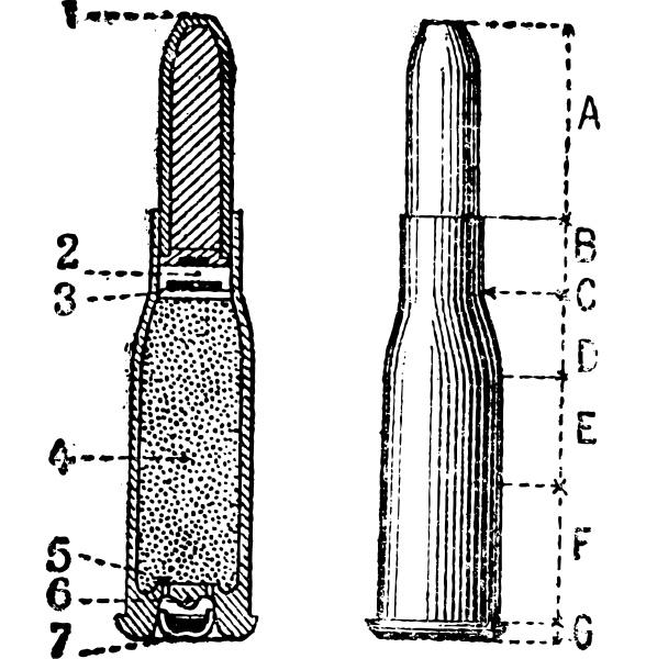 cut profile repeating firearm vintage engraving