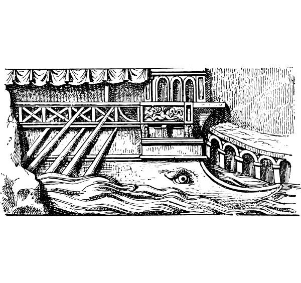 prior to a roman ship
