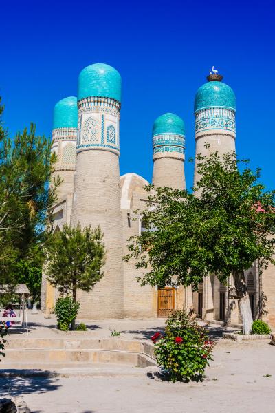chor minor in bukhara uzbekistan