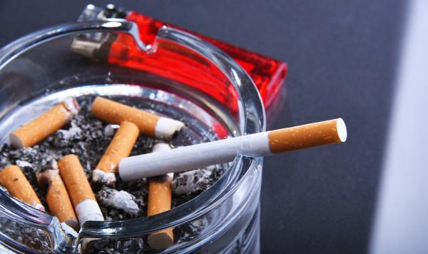 ashtray and cigarettes tobacco smoking