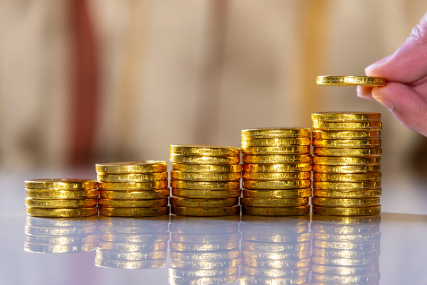 save money and account banking for