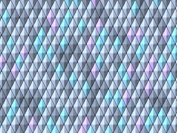 abstract geometric four pastel color vertical