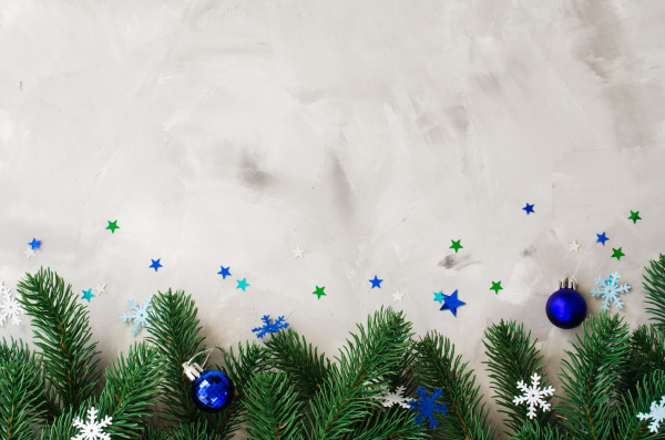 christmas of new year background with