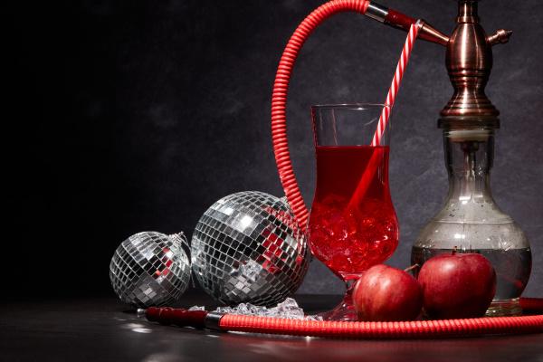 hookah shisha and cocktail new year