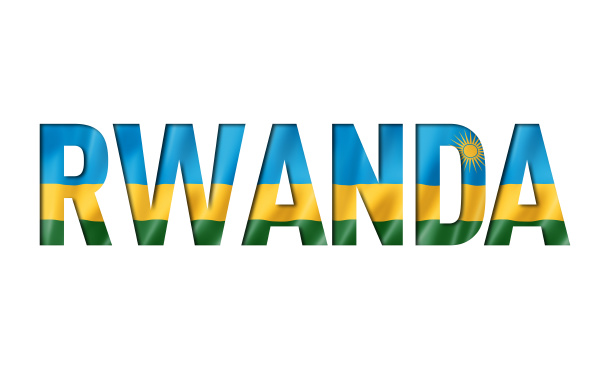 rwanda flag text font