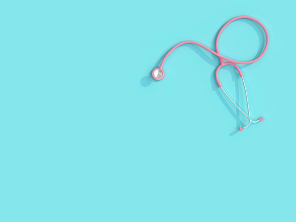 3d image render of a pink