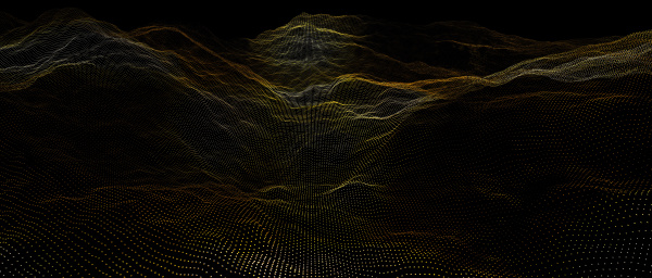 3d image render of a dotted