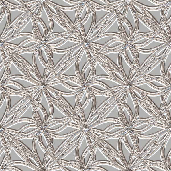 seamless repeating metallic pattern tile