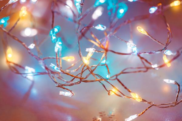 christmas, lights, background - 27688629