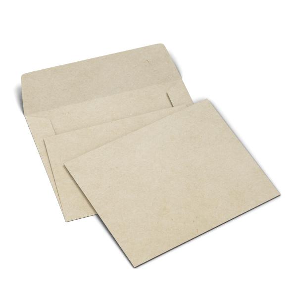 blank paper envelope mockup