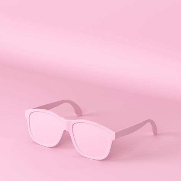 modern fashionable sunglasses