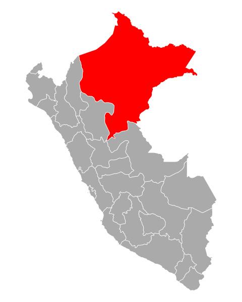 map of loreto in peru