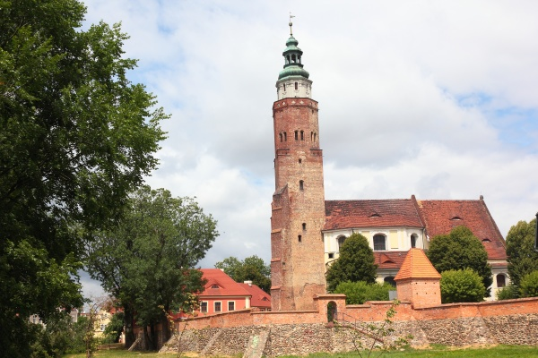 town fortification and temple in wschowa
