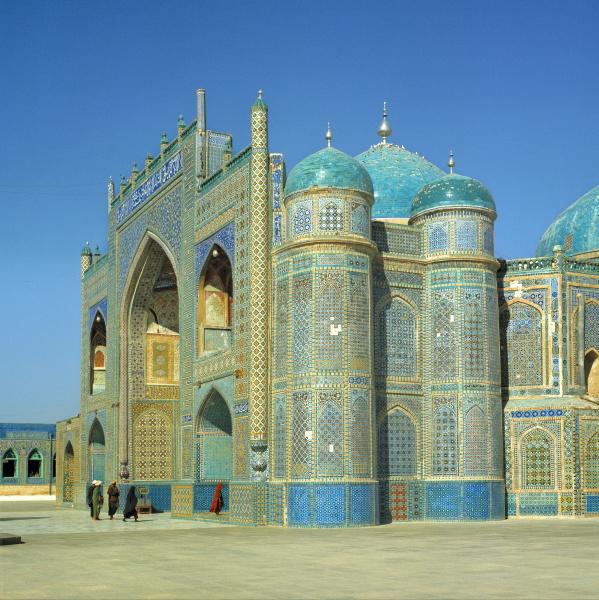 afghanistan mazar i sharif the shrine