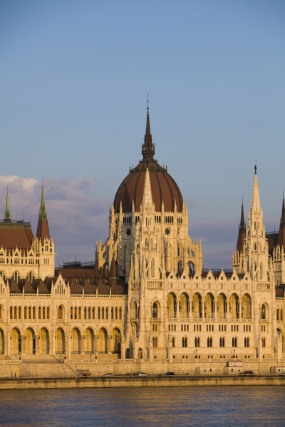 europe hungary budapest parliament building on