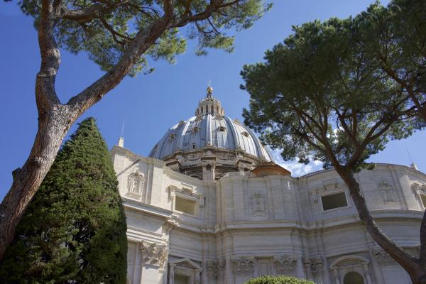 vatican city view of st peter
