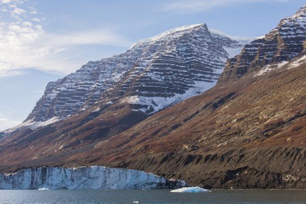 greenland scoresby sund gasefjord lateral moraine