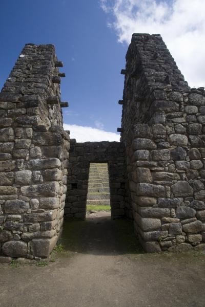 south america peru stonework in