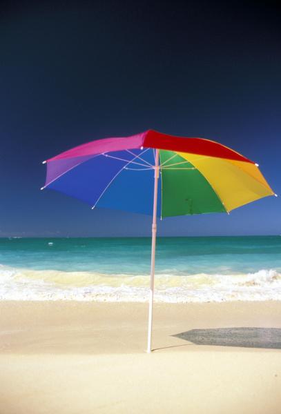 usa hawaii colorful umbrella