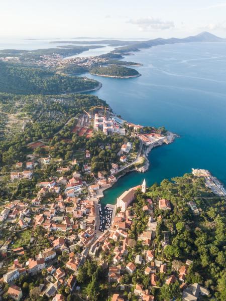 aerial, view, above, of, veli, lošinj - 27929565