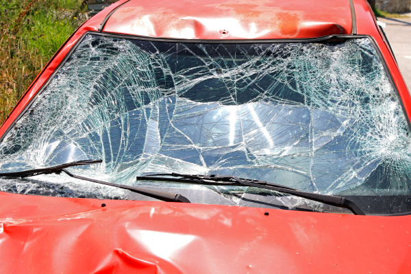 windscreen crash