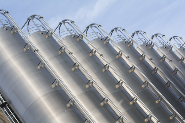industrial silo stainless steel
