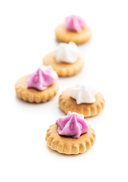 sweet mini dessert cookies