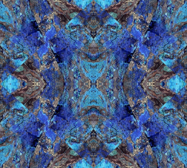 allover pattern tile blue turquoise