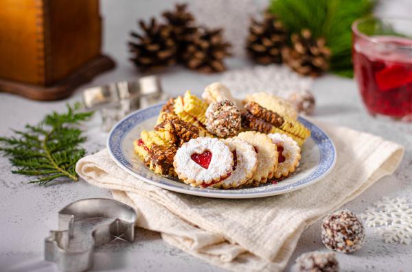 czech christmas sweet cookies