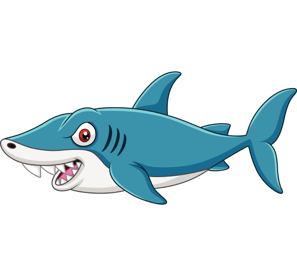 cartoon, shark - 27981548