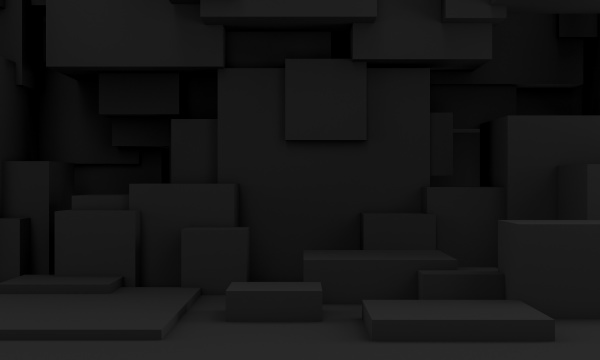 3d image of a dark toned