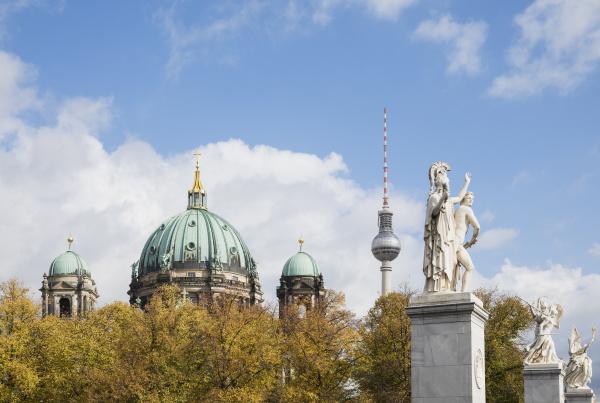 germany berlin statues of