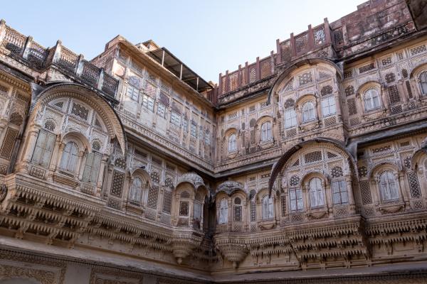 mehrangarh fort windows detailed