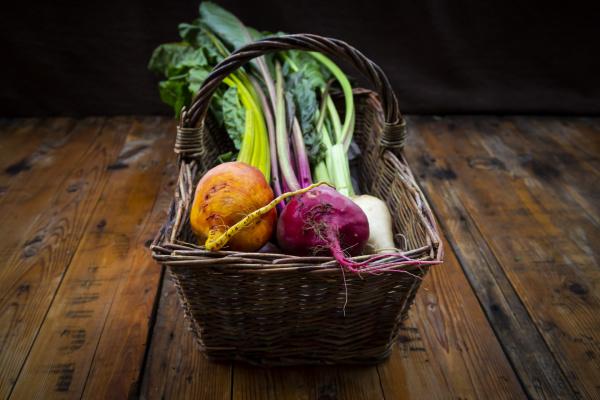 assorted beets in basket