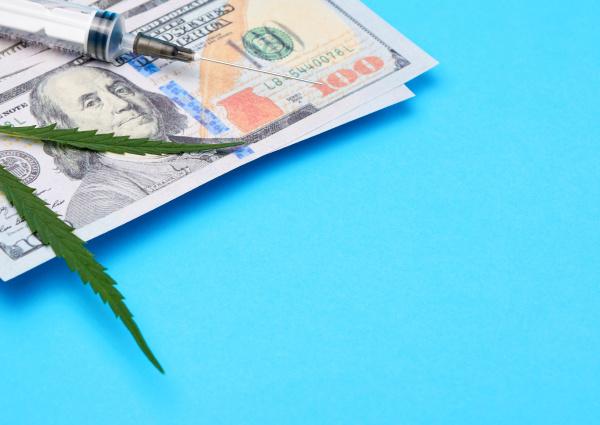 cash us dollars green hemp
