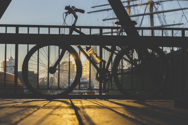 germany hamburg bicycle on