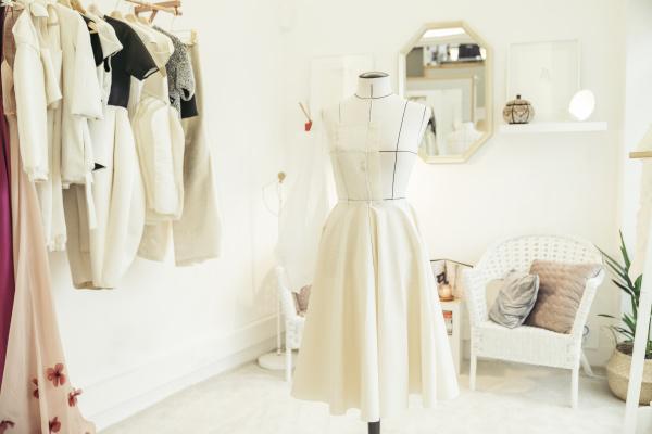 atelier of fashion designer