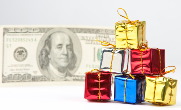 small christmas gifts with money