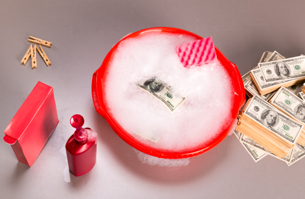 dollars, banknotes, are, washing, in, foam - 28065821
