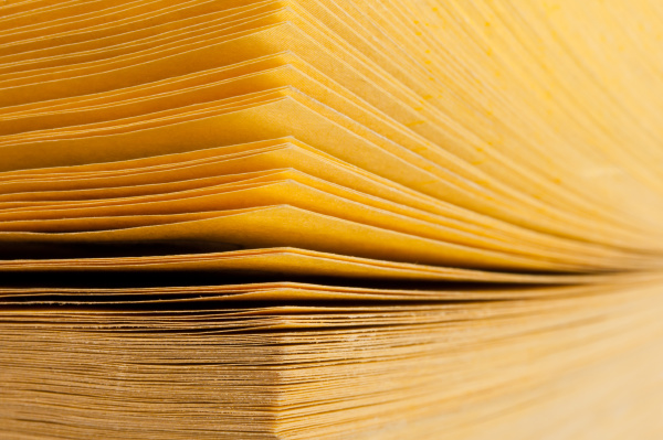abstract, view, of, yellow, pages, book - 28076650
