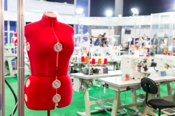 dummy, for, clothes, on, sewing, factory, - 28078235