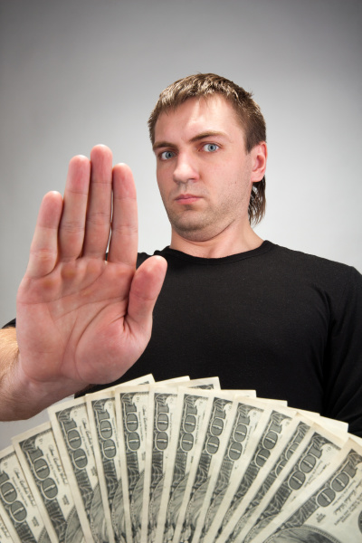 money bribe