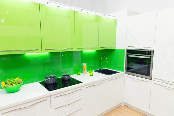 modern kitchen interior shot with studio